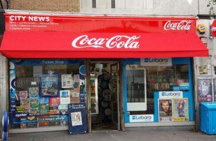 Coca-Cola Shop front