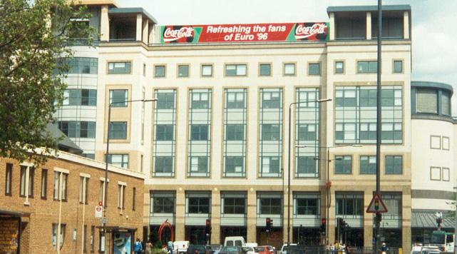 Positive Euro 96 Inner City Branding