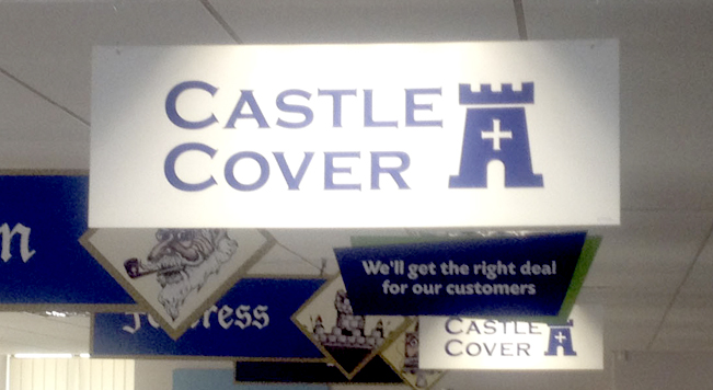 Castle Cover office graphics