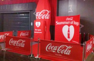 Coca-Cola Summer of Hugs promotion