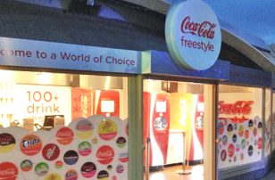 Coca-Cola Freestyle at Thorpe Park