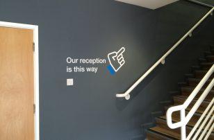 Internal wall graphics
