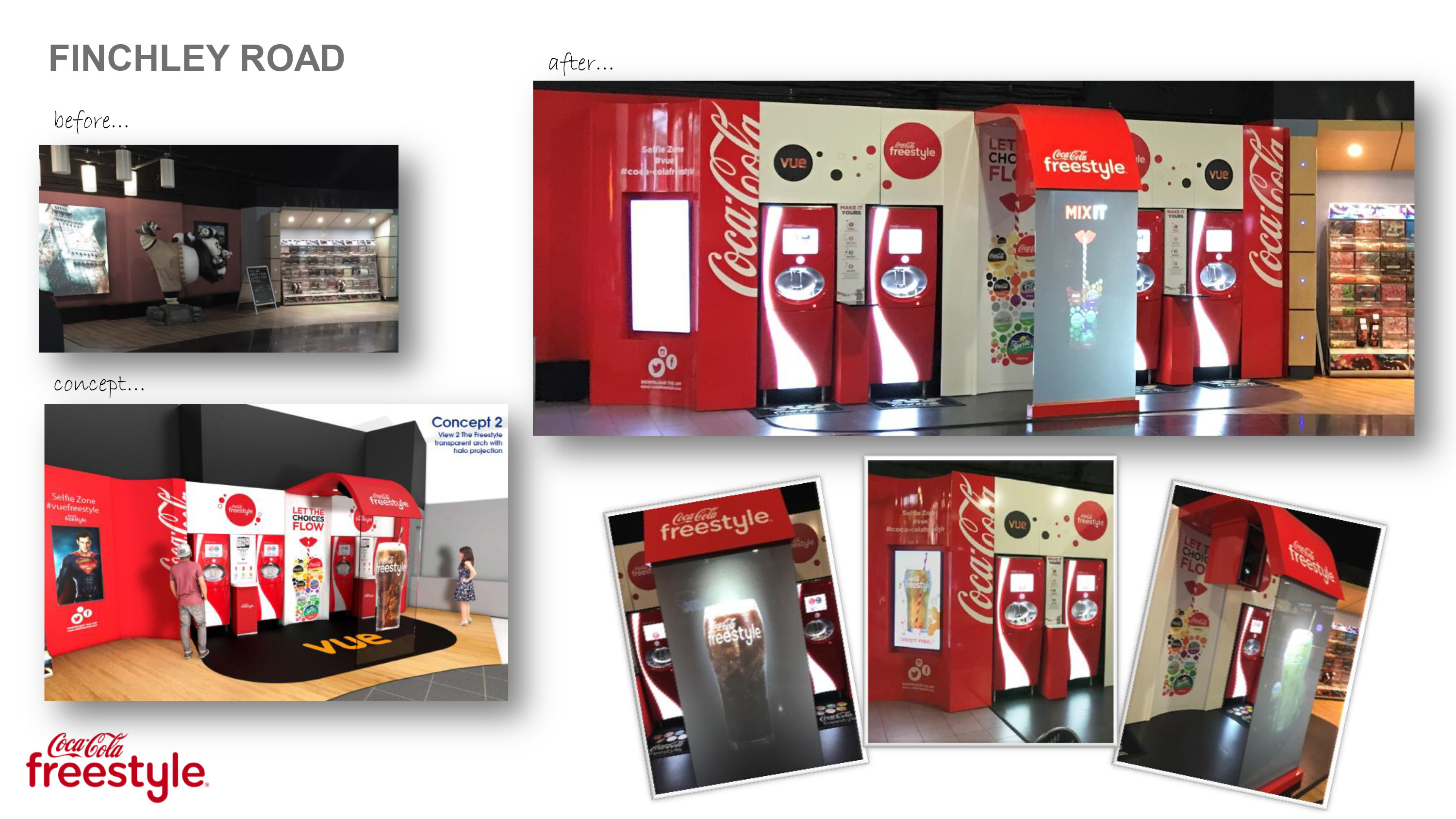 Positive Coca Cola Freestyle Vue Cinema
