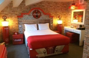 Coca-Cola celebration suite at Alton Towers