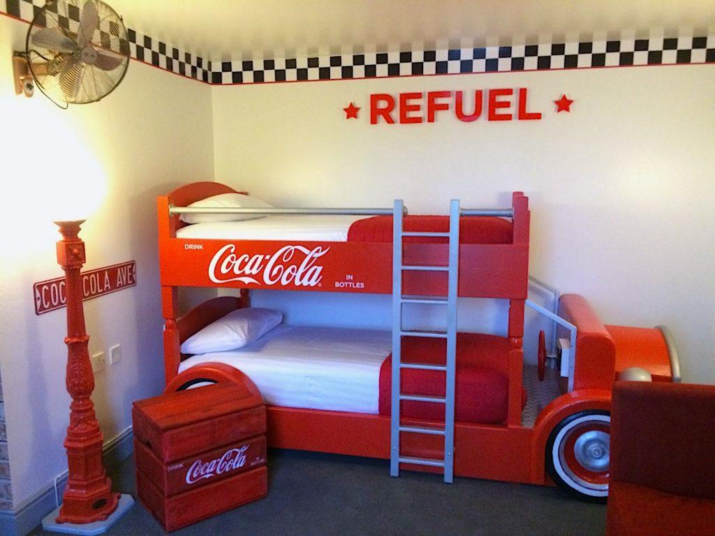 Coca-Cola Bunkbed